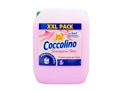 Coccolino (Itálie) COCCOLINO SURF Italská aviváž XXL balení různé vůně 10L (110pracích dávek) Vůně Coccolino: Pink (růžová) – Jemně nasládlá vůně