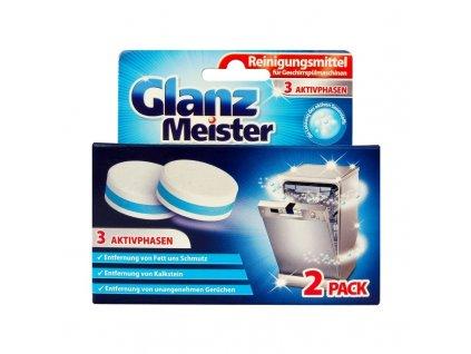 Glanz Meister (Německo) GLANZ MEISTER Tablety na čištění myčky 2x40g
