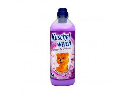 Kuschelweich (Německo) KUSCHEL WEICH Aviváž 1L (34dávek) Vůně Kuschel weich: Magische Frische (fialová)
