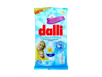 Dalli (Německo) DALLI Voňavé ubrousky do sušičky 25ks