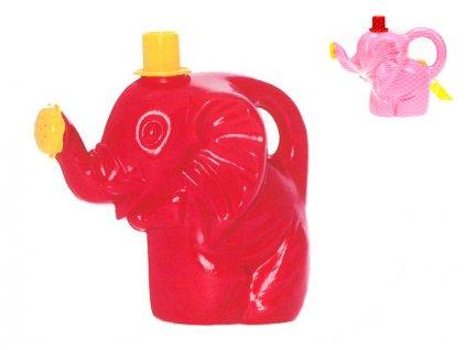 Konvička slon 17cm 10m+ 2barvy v síťce
