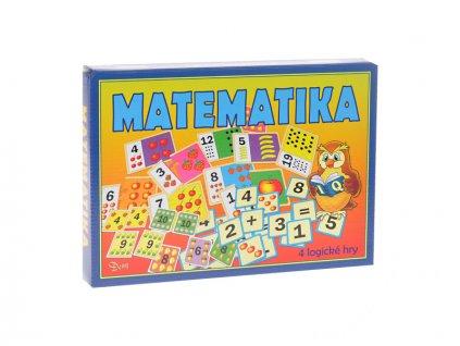 Společenská hra logická Matematika v krabičce