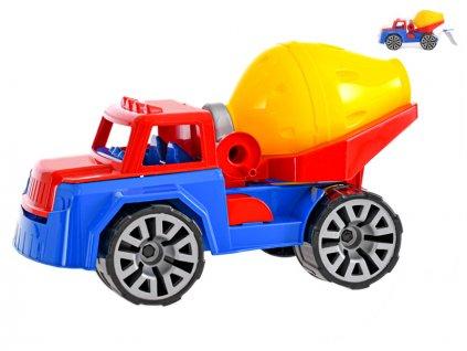 Auto stavební míchačka 30cm v síťce