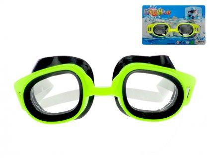 Plavecké brýle 16,5cm na kartě