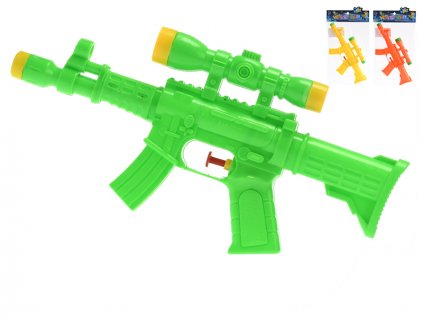 Vodní pistole 29cm 3barvy v sáčku