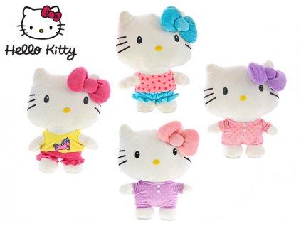 Hello Kitty plyšová 26cm pyžamová party 4barvy 0m+