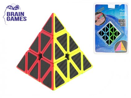 Pyramida hlavolam 9,5x9,5x9,5cm v blistru