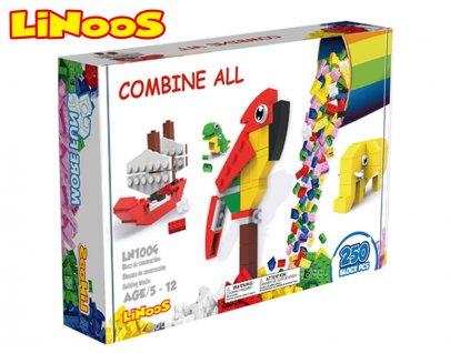 LiNooS stavebnice 250ks v krabičce