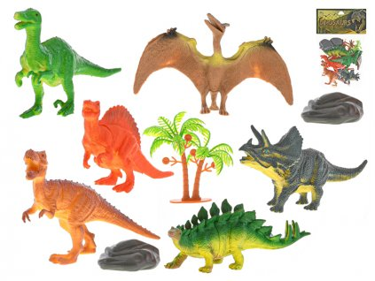 Dinosauři 12-13cm 6ks v sáčku