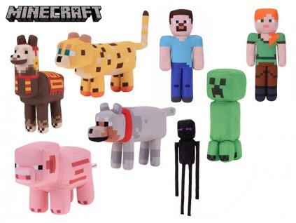 Minecraft 30cm plyšový 8druhů 0m+