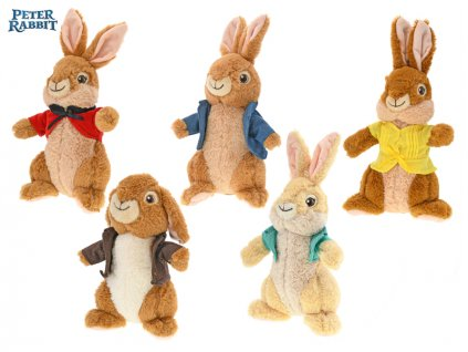 Peter Rabbit 35cm plyšoví 5druhů 0m+