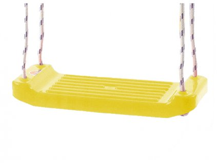 Houpačka plastová (prkénko) žlutá v síťce