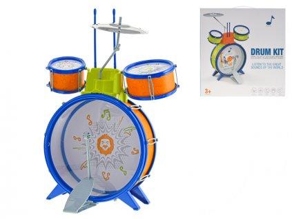 Sada bicích 3ks s pedálem, činely a paličkami v krabičce