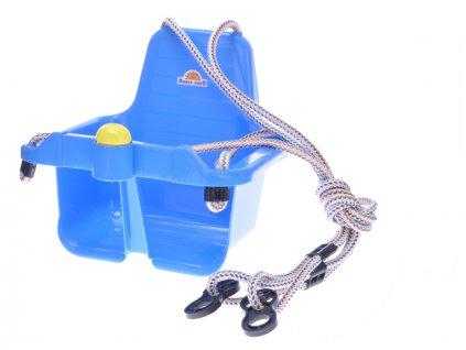Houpačka s klaksonem modrá 18m+