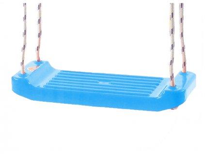 Houpačka plastová (prkénko) světle modrá v síťce