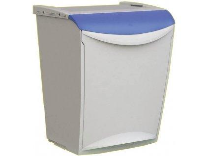 Odpadkový koš na tříděný odpad 25 litrů Modrá