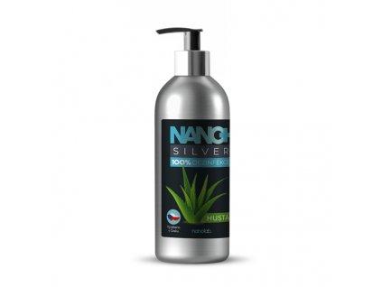 NANO+ Silver HUSTÁ dezinfekce na ruce 300 ml eco-friendly