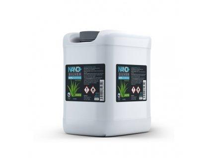NANO+ Silver HUSTÁ dezinfekce na ruce kanystr 5 litrů