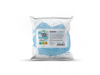 Jednorázové roušky s nanosilver ochranou - bag 5ks