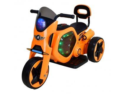 Elektrická dětská trojkolka RACCEWAY, oranžová