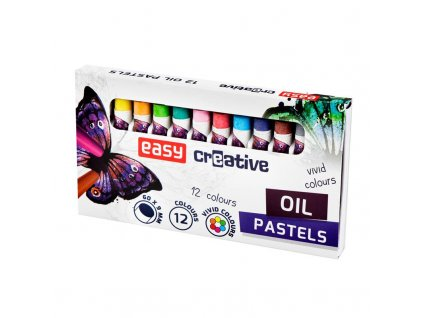EasyArt olejové pastely 12 ks/sada
