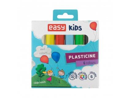 EasyCreative plastelína 6 barev/sada, 96g