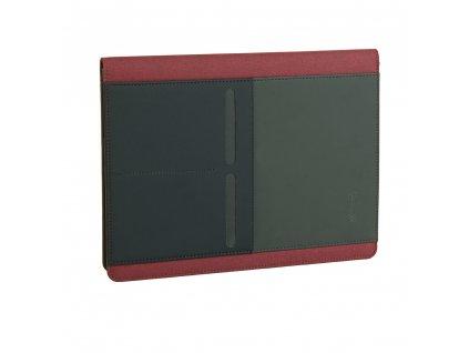 Obchodní složka/diplomatka Guriatti A4-12-1-G černo-červená