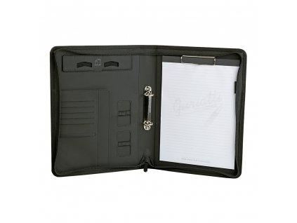 Obchodní složka/diplomatka Guriatti A4-16-1-G na zip černo-šedá