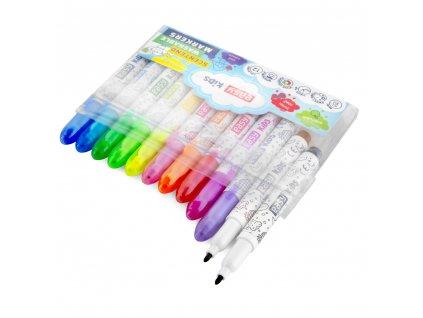 Fixy S VŮNÍ MINI, 12 barev, vypratelné
