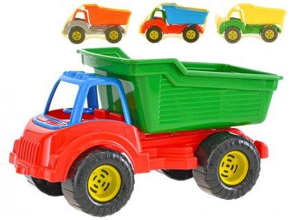 Auto nákladní 30cm volný chod 4barvy v síťce