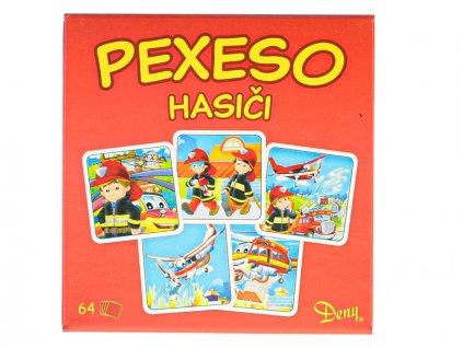 Pexeso Hasiči 64ks v krabičce