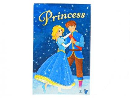Karty Černý Petr Princess 31ks v krabičce