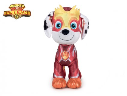 Paw Patrol Super Mighty Pups plyšový Marshall 19cm 0m+
