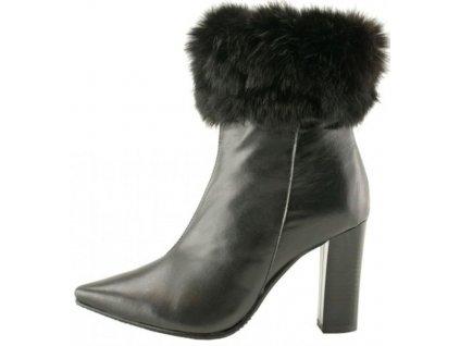 Bosccolo dámská kotníčková obuv 39 černá