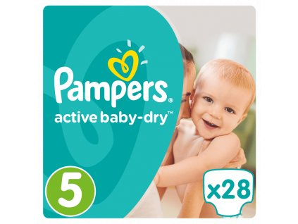 Pampers Active Baby 5 Mid Pack (11-18 kg) 28 ks