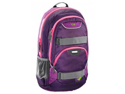 CoocaZoo Školní batoh Rayday, Purple Magentic