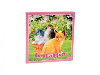 Společenská hra Koťátka v krabičce