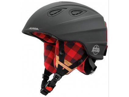 Alpina Sports Grap 2.0 Le Black-Lumberjack Matt 54-57