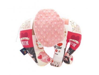 CuddlyZOO Elephant Toy růžová