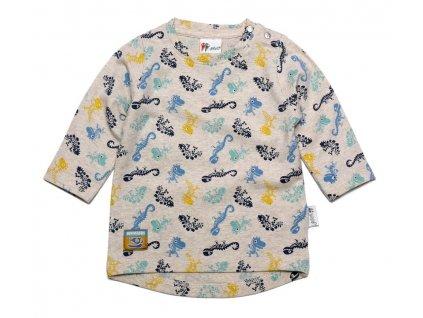Gelati chlapecké tričko Dinosaur 62 šedá