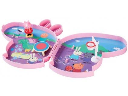 TM Toys Peppa Pig - Pick up & play hrací set se zvuky - na hřišti