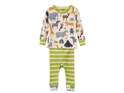 Hatley chlapecké pyžamo 68 vícebarevná