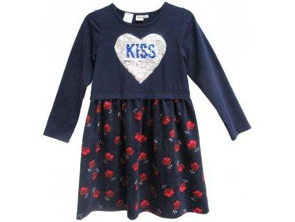 Topo dívčí šaty 92 modrá