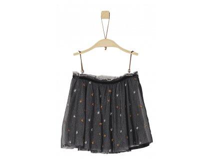 s.Oliver dívčí sukně 110 šedá