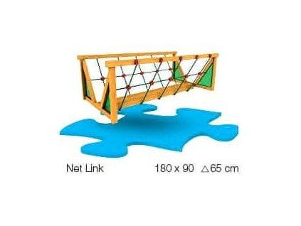 Jungle Gym Net Link - pevná spojovací lávka