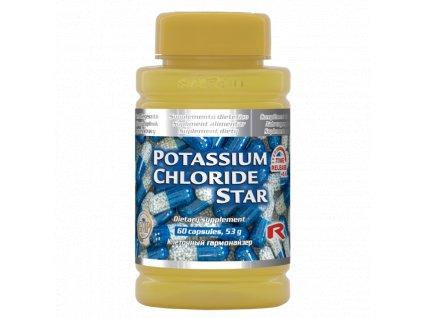 POTASSIUM CHLORIDE STAR, 60 cps - svaly a nervová soustava