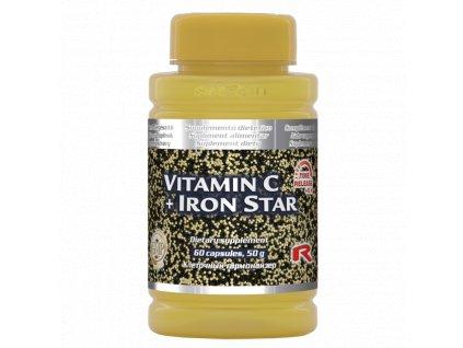 VITAMIN C + IRON STAR, 60 cps - imunita – vitalita