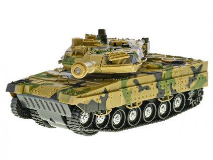 Tank 1:32 24cm na setrvačník na baterie se světlem a zvukem 2barvy 8ks v DBX