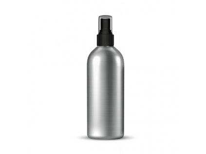 Hliníková lahvička s černým sprejem 300 ml