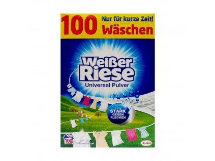 Henkel WEISSER RIESE Prací prášek 5,5kg (100dávek) WEISSER RIESE 5,5kg: UNIVERSAL (modrý)
